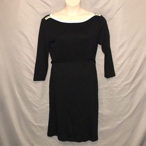 Lauren Ralph Lauren 100% cotton black dress